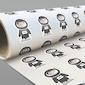 Vlastní tvar (dodání tvarových samolepek v roli na podkladovém papíru)